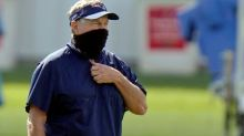 NFL requiring coaches, staff near bench to wear masks