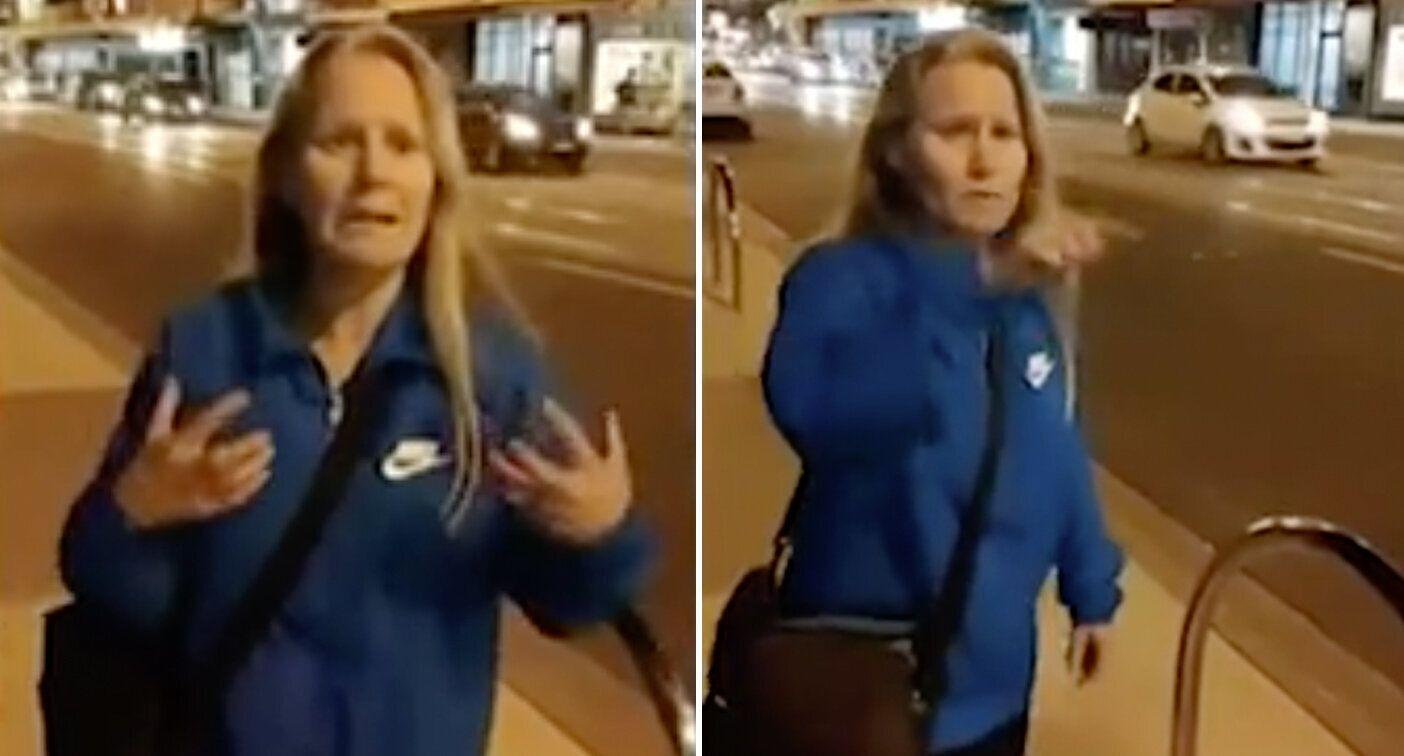 'I was born here': Election candidate denies racist claims after filmed in street rant