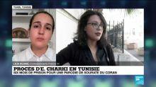 Procès d'Emma Charki en Tunisie : six mois de prison pour une parodie de sourate du Coran