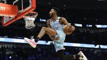 Jones Jr. gana el concurso de clavadas de la NBA