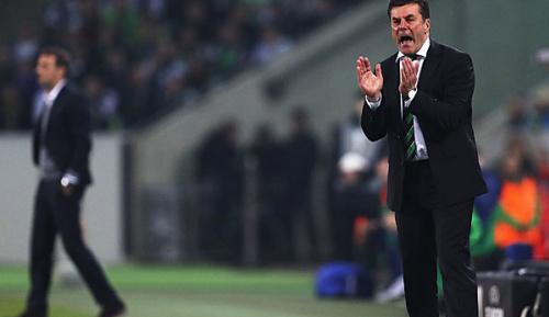 """Europa League: Hecking: """"Ich weiß nicht, was ihn da geritten hat"""""""