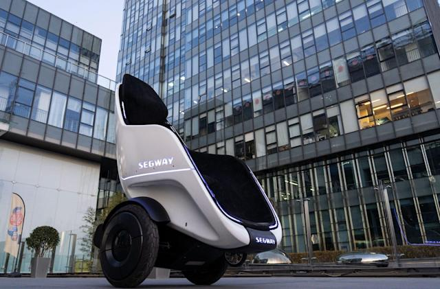 Segway's latest EV prototype looks like Professor X's wheelchair