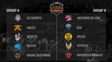 2017 EU LCS Summer Group draw finalized