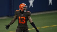 Odell Beckham waves goodbye to Cowboys again as Browns hang on in shootout in Dallas