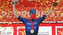 Bennett edges UAE Tour sprint finish, Pogacar remains in red