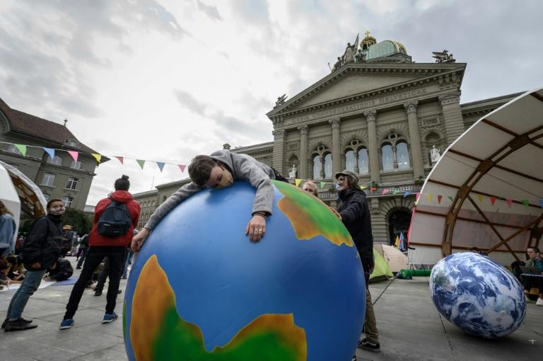 The Countdown event seeks to highlight ways to take action, setting it apart from climate protests such as this one in Bern, Switzerland in September 2020