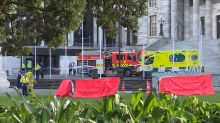 NZ parliament protester dies in hospital
