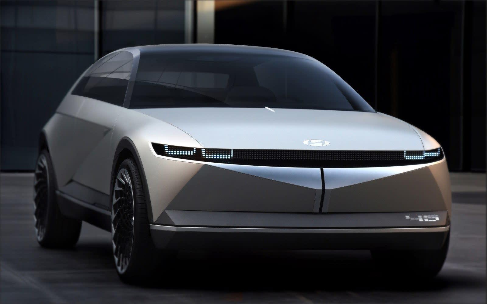The Hyundai Motor 45 EV Concept