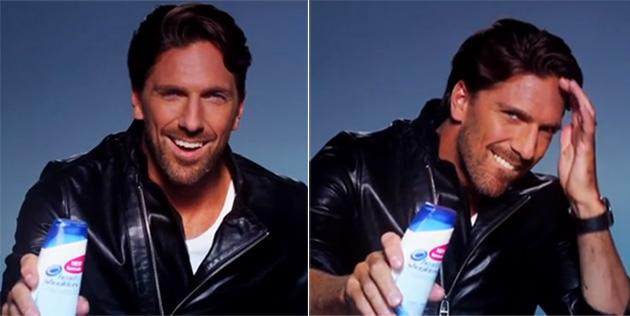 Henrik Lundqvist Seduces You With Dandruff Shampoo In Sexy Swedish