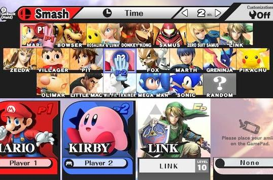 When 'Super Smash Bros.' hits Wii U, you'll be able to control it with a 3DS