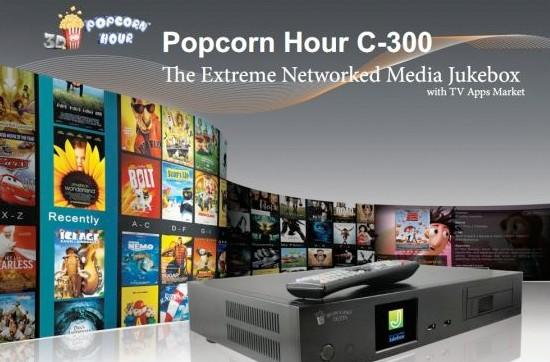 Popcorn Hour bulks up for the C-300, can juggle an extra hard-disk or Blu-ray drive (video)