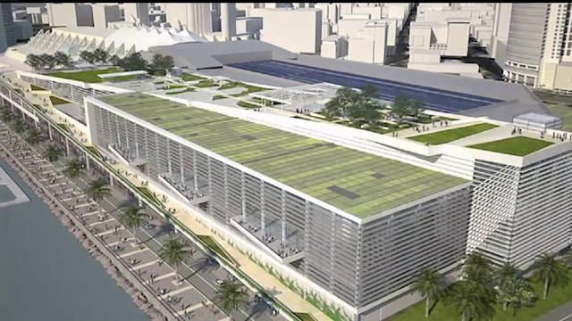 San Diego Convention Center Explansion Plans Approved