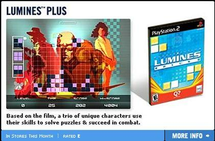 How different is Lumines on PS2?!