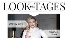Look des Tages: Chloë Grace Moretz im rosa-roten Outfit unterwegs in New York