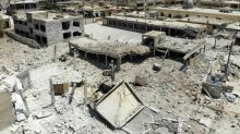 Syria regime forces take full control of key town