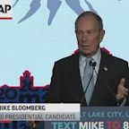 Bloomberg launches attack on Sanders' gun control record, says NRA 'paved the road to Washington' for him