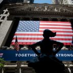 Stock market news live updates: Stocks close out second straight month of gains