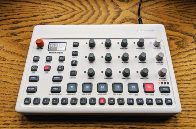 Elektron's Model:Samples groovebox is $100 off for the holidays