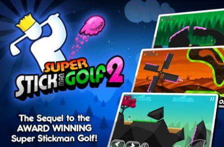 Out today: Super Stickman Golf 2, The Croods by Rovio, Danger Boat and more