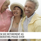 70 is the new 50! Women see retirement as the most liberating phase