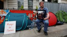 Husband of jailed British-Iranian national enters day 8 of hunger strike