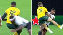 Physical Fijians take it to Wallabies during Rugby World Cup encounter