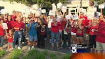 Protesters Push for Recall Vote in Moreno Valley