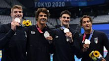 Olimpiadi, terza giornata: Martinenghi bronzo. La 4x100 stile , Bacosi e Garozzo argento. Quadarella in finale