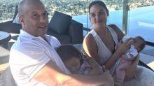 Vin Diesel em momento fofura com 'Mulher-Maravilha'