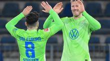 Steffen at the double as Wolfsburg go third in Bundesliga