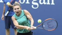 Top-seeded Simona Halep makes history with first-round US Open loss