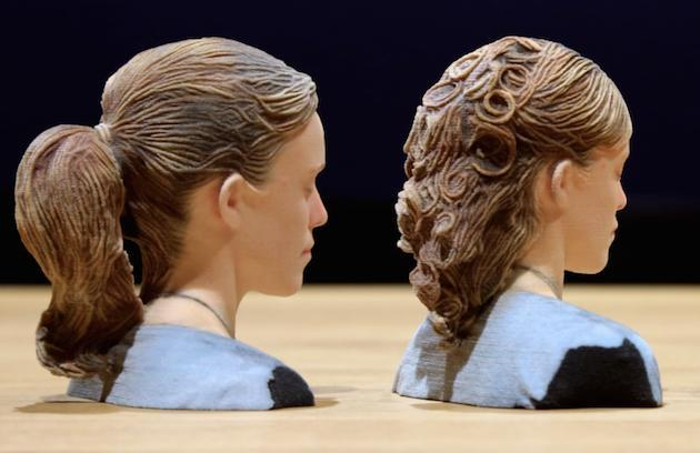 Disney Research's latest tech will accurately 3D print your mullet