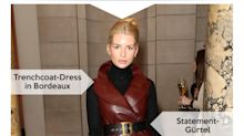 Look des Tages: Lottie Moss ladylike im Leder-Dress