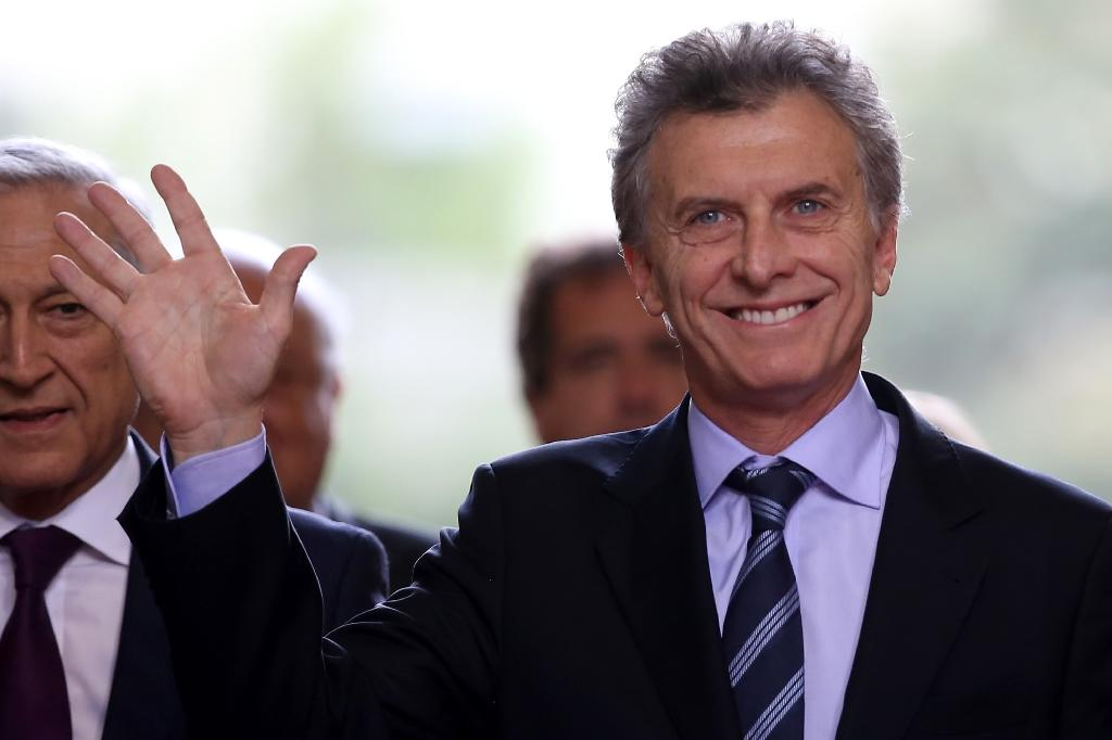 Latin America's left has been on the run since the business-friendly conservative Mauricio Macri won Argentina's election in November 2015 (AFP Photo/Claudio Reyes)