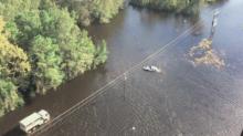 Pennsylvania National Guard Surveys Extensive South Carolina Flooding