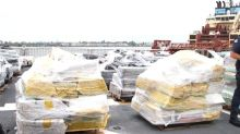 Record-breaking year in cocaine seizures for the Coast Guard