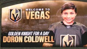 Golden Knights make wish come true for teen cancer survivor
