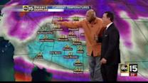 Charles Barkley gives weather forecast in Phoenix