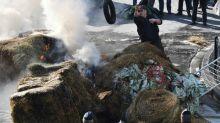 Agricultores protestam na França contra acordo UE-Mercosul