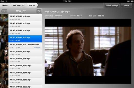 TUAW Faceoff: Streaming video on the iPad with Air Video and StreamToMe
