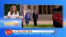 The Queen meets US President Donald Trump