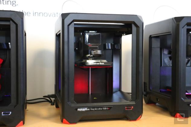 MakerBot's Replicator Mini+ is designed for classrooms
