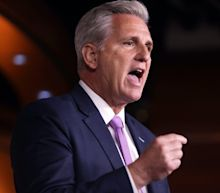 Kevin McCarthy jumps on Marjorie Taylor Greene's bandwagon, saying he'll introduce his own resolution to censure Maxine Waters for her 'dangerous comments'