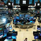 US STOCKS-Wall Street ekes out gains to close languid week