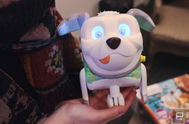 Hasbro's cute new robo-dog teaches coding on the sly