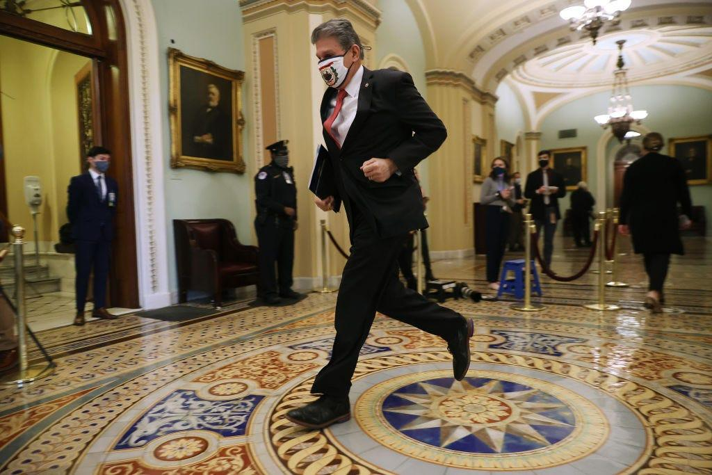 Joe Manchin suddenly seems to influence everything Washington does. The West Virginia senator says he wants to make Congress 'work again'