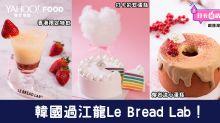 【銅鑼灣美食】韓國過江龍Le Bread Lab甜品店!新推打卡彩虹系列+熔岩流心蛋糕