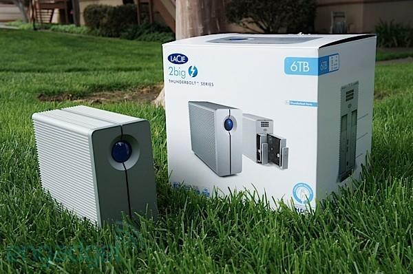 LaCie 2big Thunderbolt series external HDD review