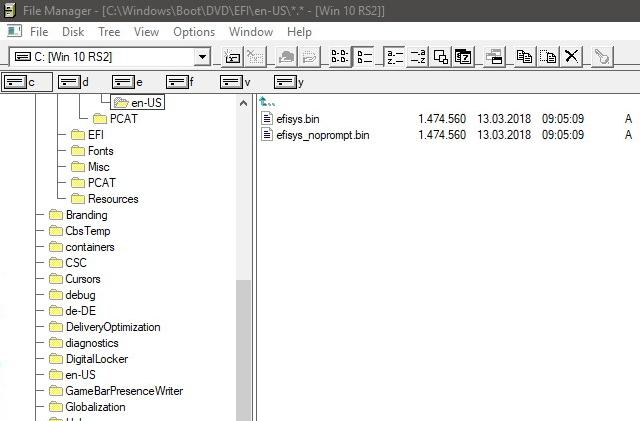 Windows 3.0-style file browser lets you navigate like it's the 90s