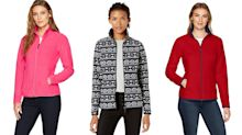 This cozy polar fleece zip-up has more than 11,000 reviews on Amazon - and it's only $28